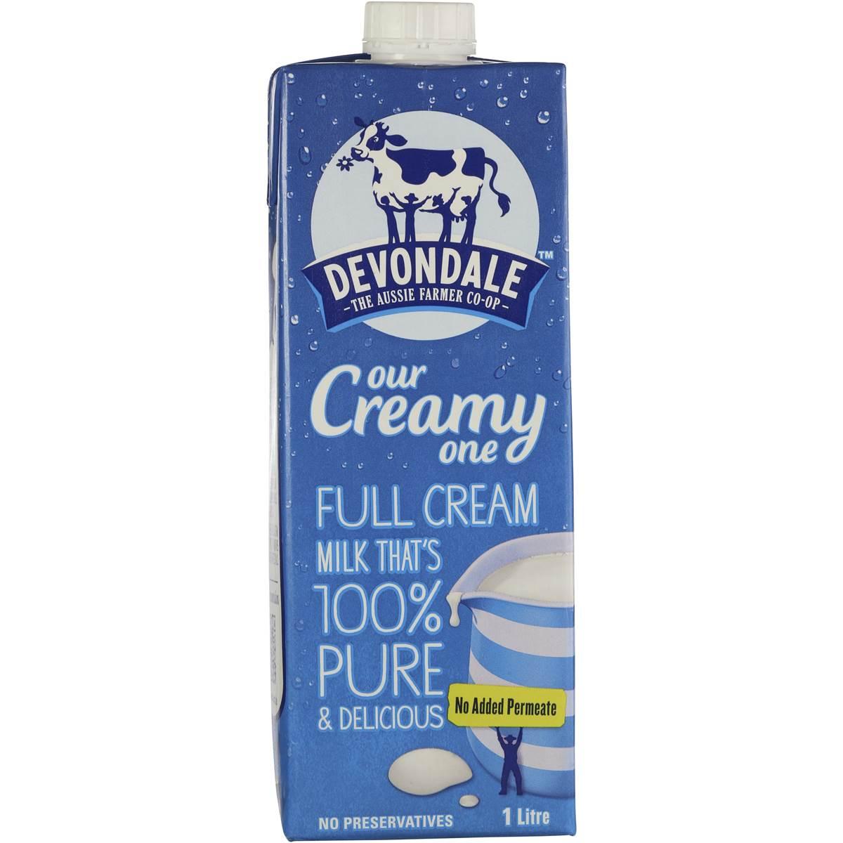 Long Life Full Cream Milk