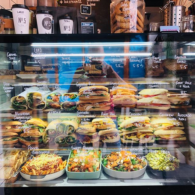 Come in and try our amazing cabinet food 😍 changes daily ! #cafebrisbane # #no.5cafe #brisbanefood