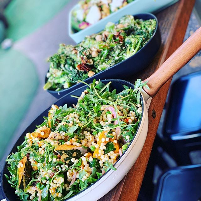 Come in and try out new range of salads !! five variety's Daily 😍#healthy #winnlane #no.5cafe #fortitudevalley