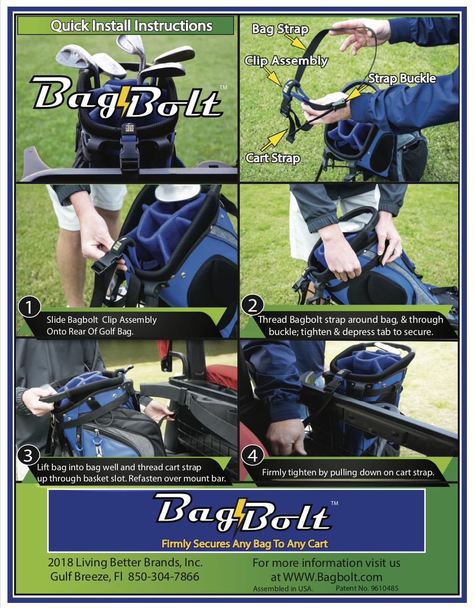 BAG BOLT Installation Instructions