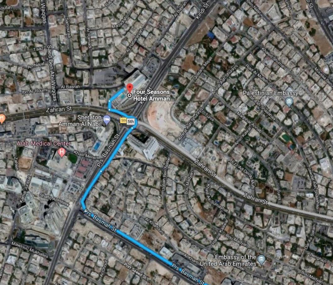 Centre of West Amman (Wealthy Upper Class)