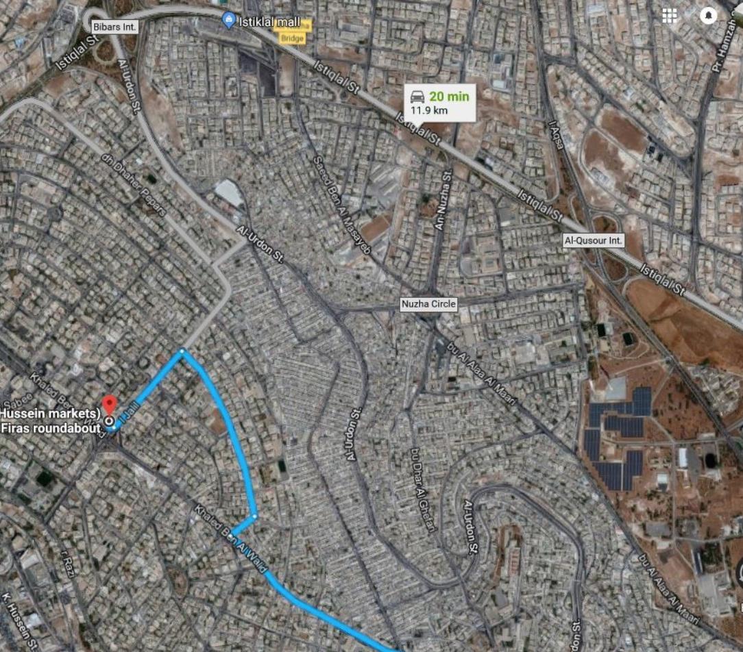 Centre of East Amman (Lower Class)