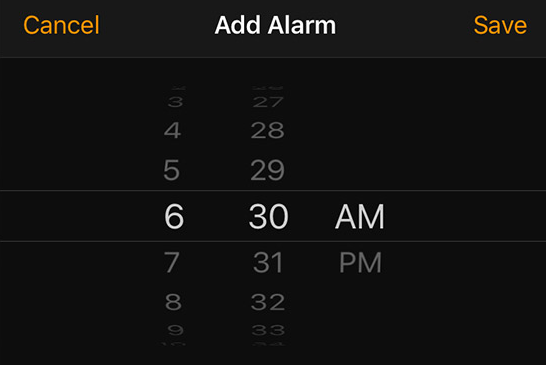 When? - Have users set an alarm clock not only for getting up but also for receiving an amazing breakfast combo.