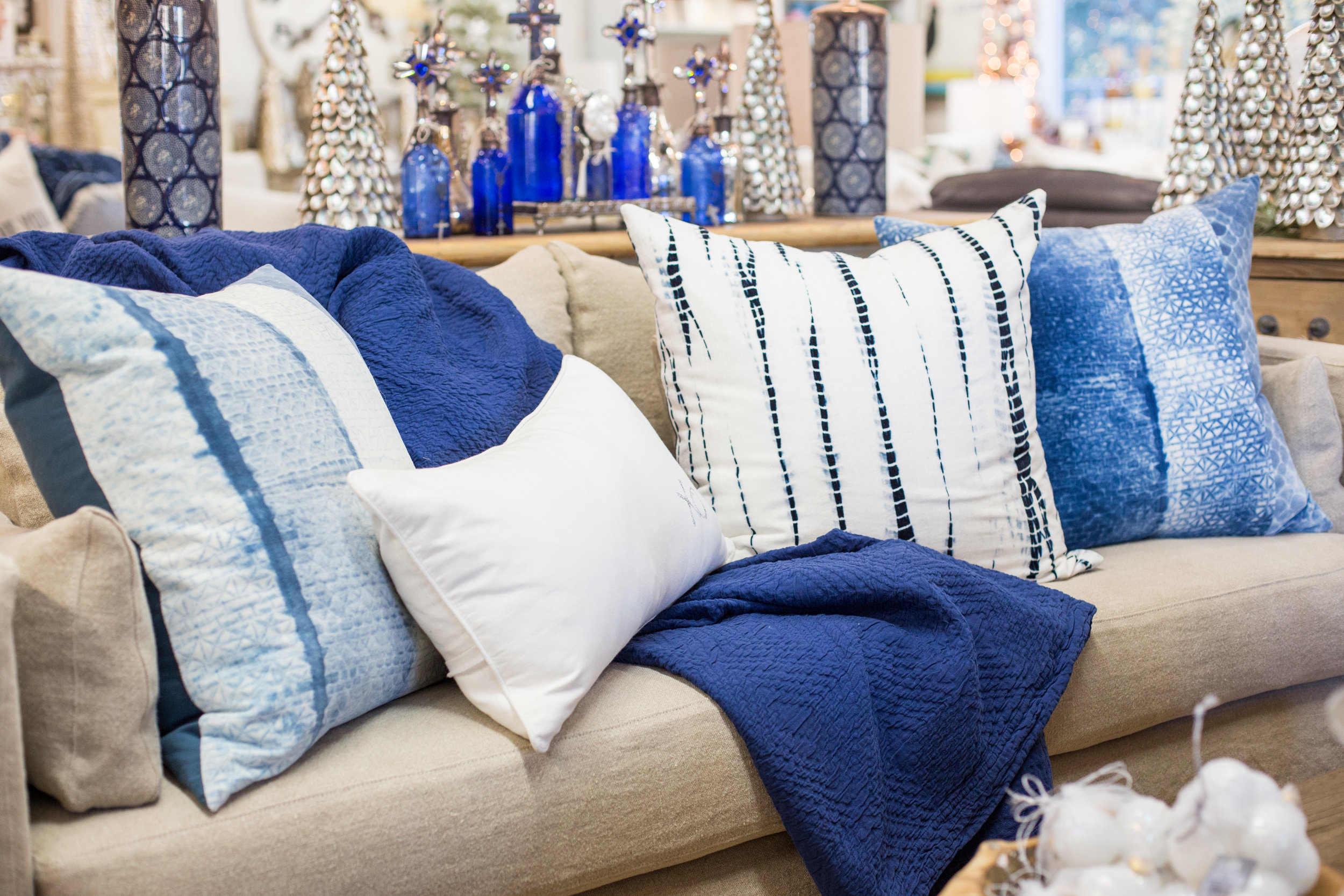Coastal styled sofa