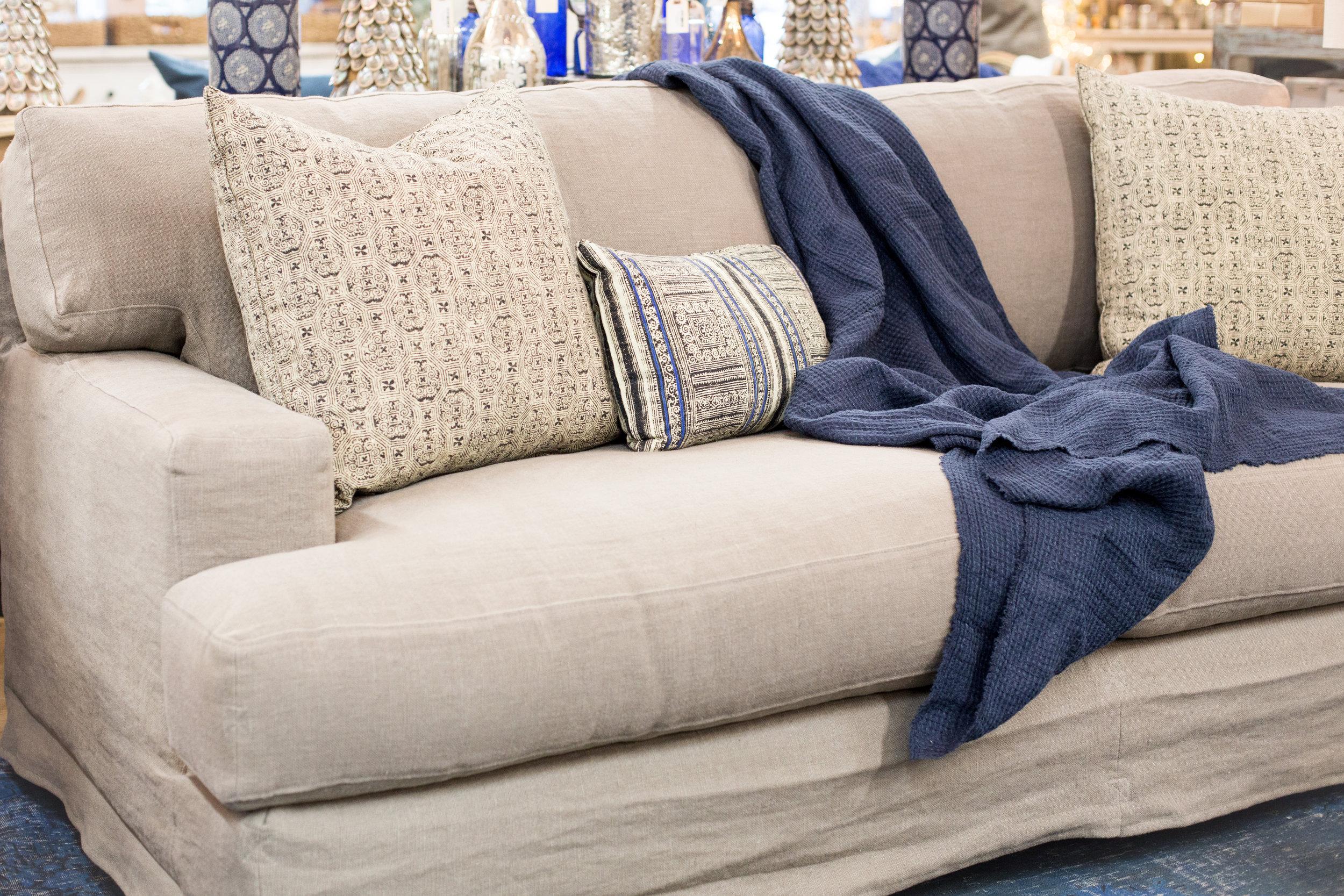 Beach styled sofa