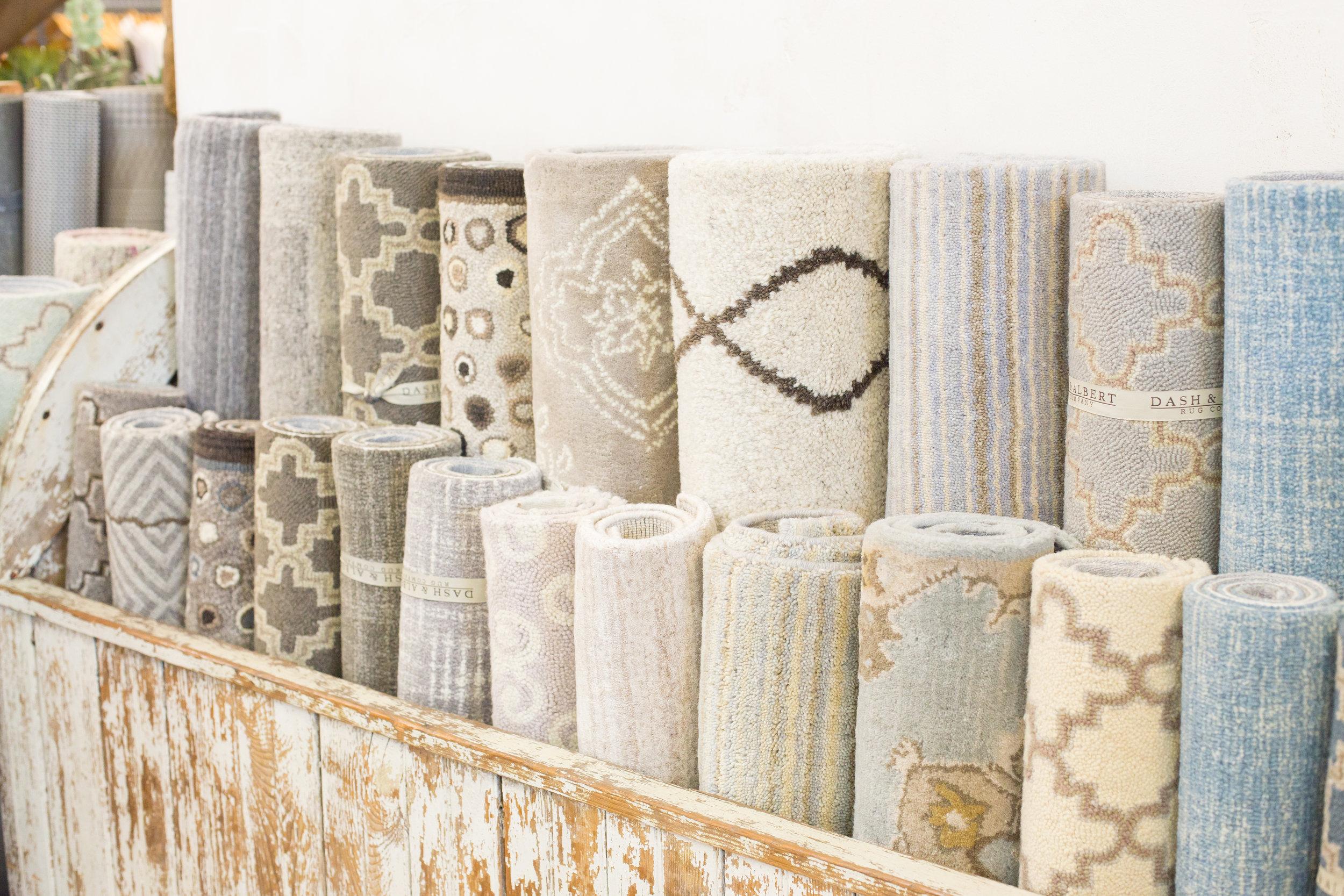 Stylish rugs