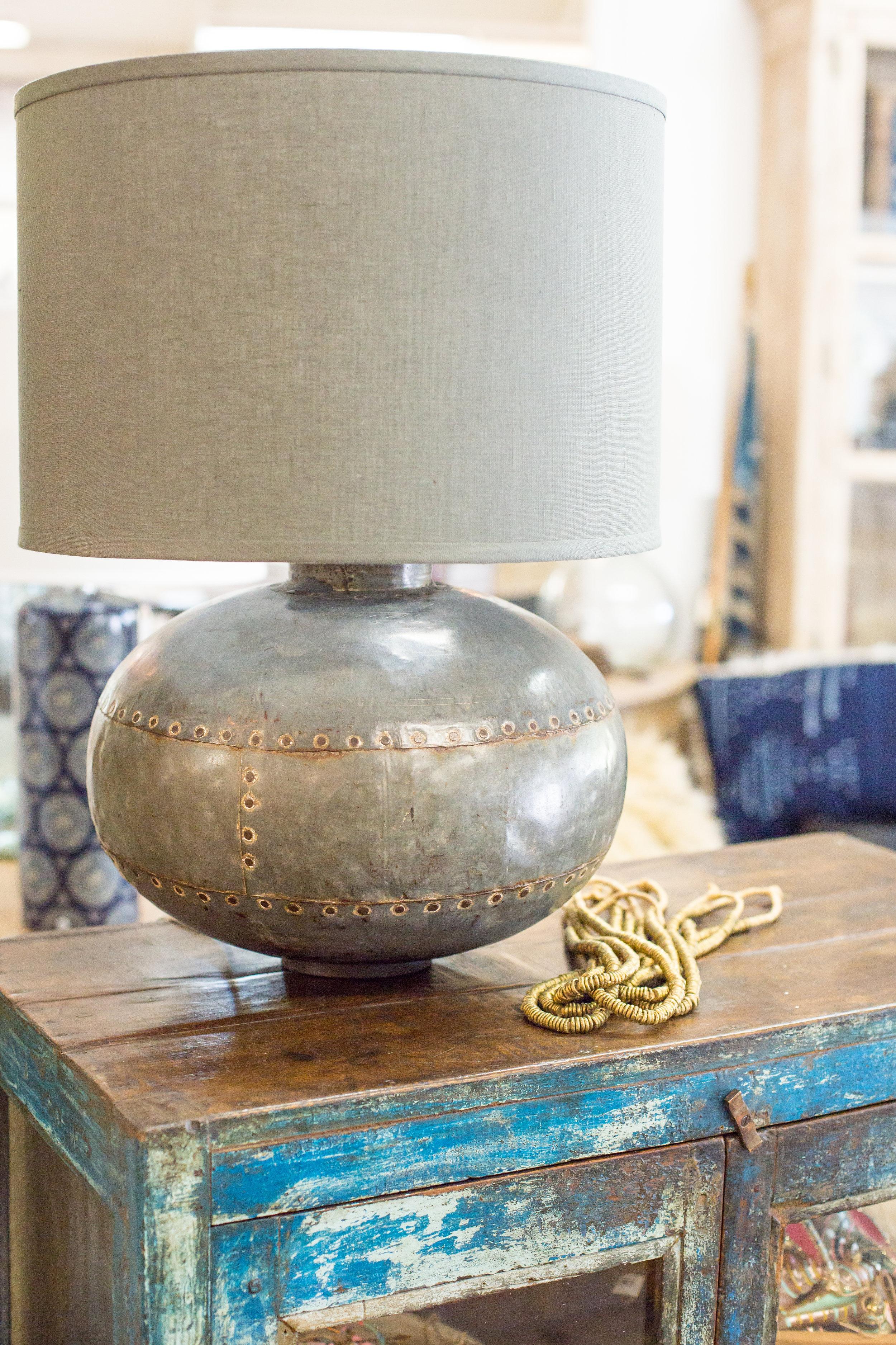 Metal decorative lamp