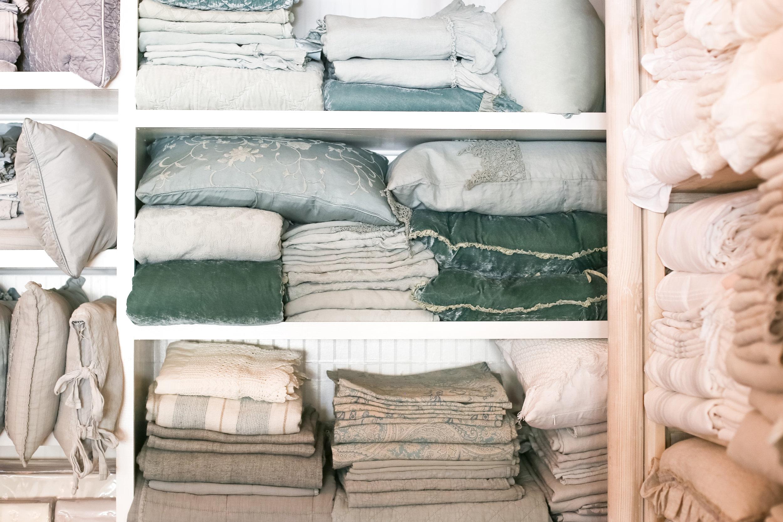 Washable, warm bedding