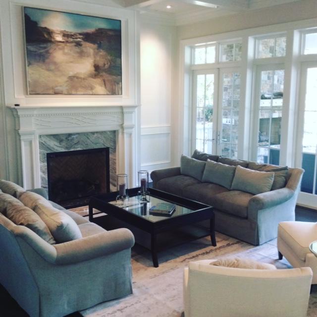 Designer sitting room