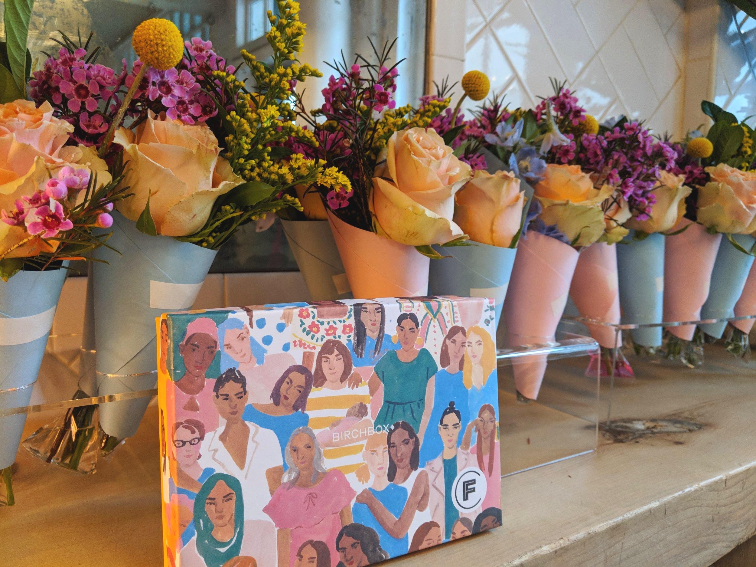 Birchbox x Rebecca Minkoff Mini Bouquet Bar