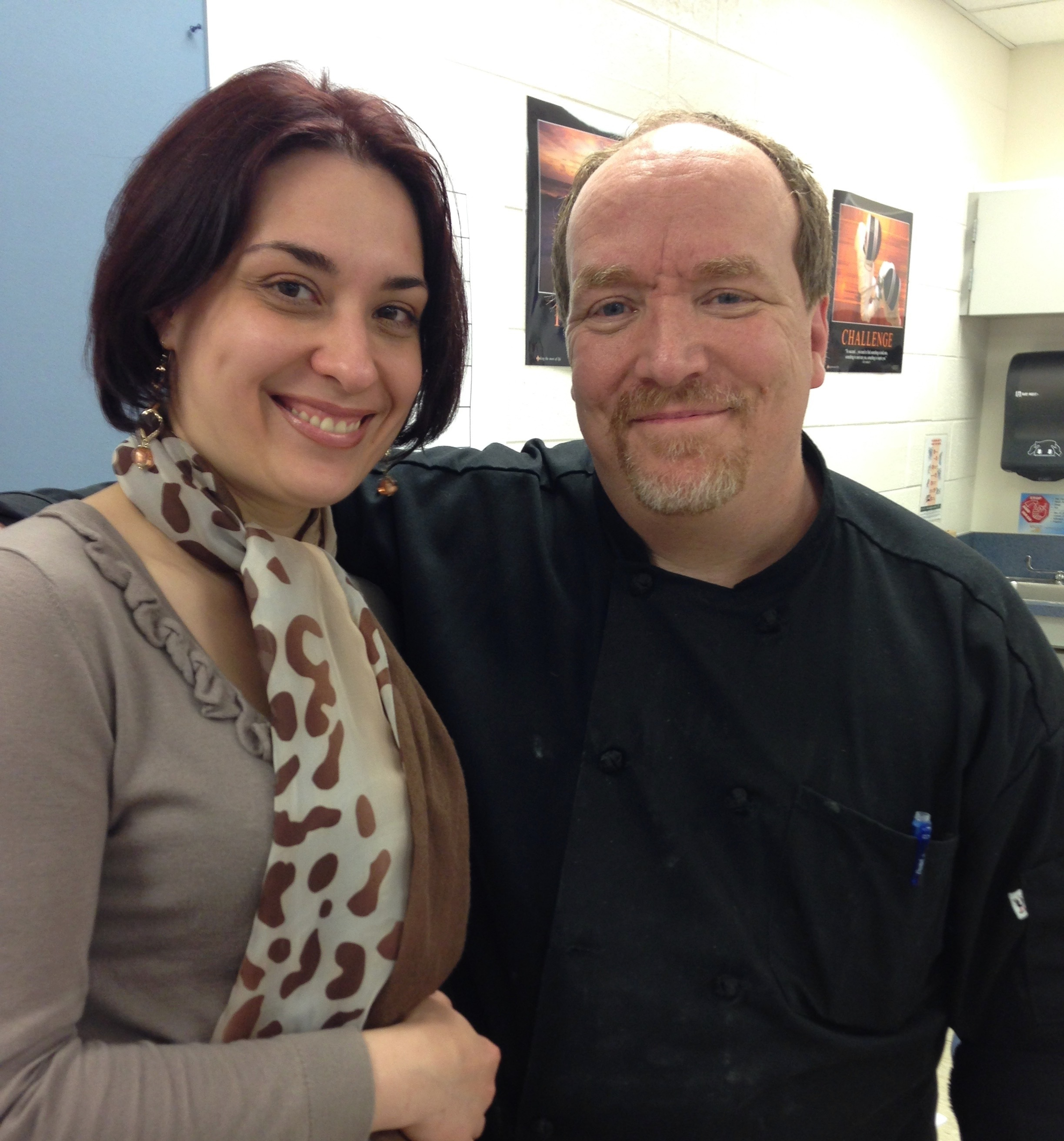 Mike McCarey and Tatiana Kovalenko