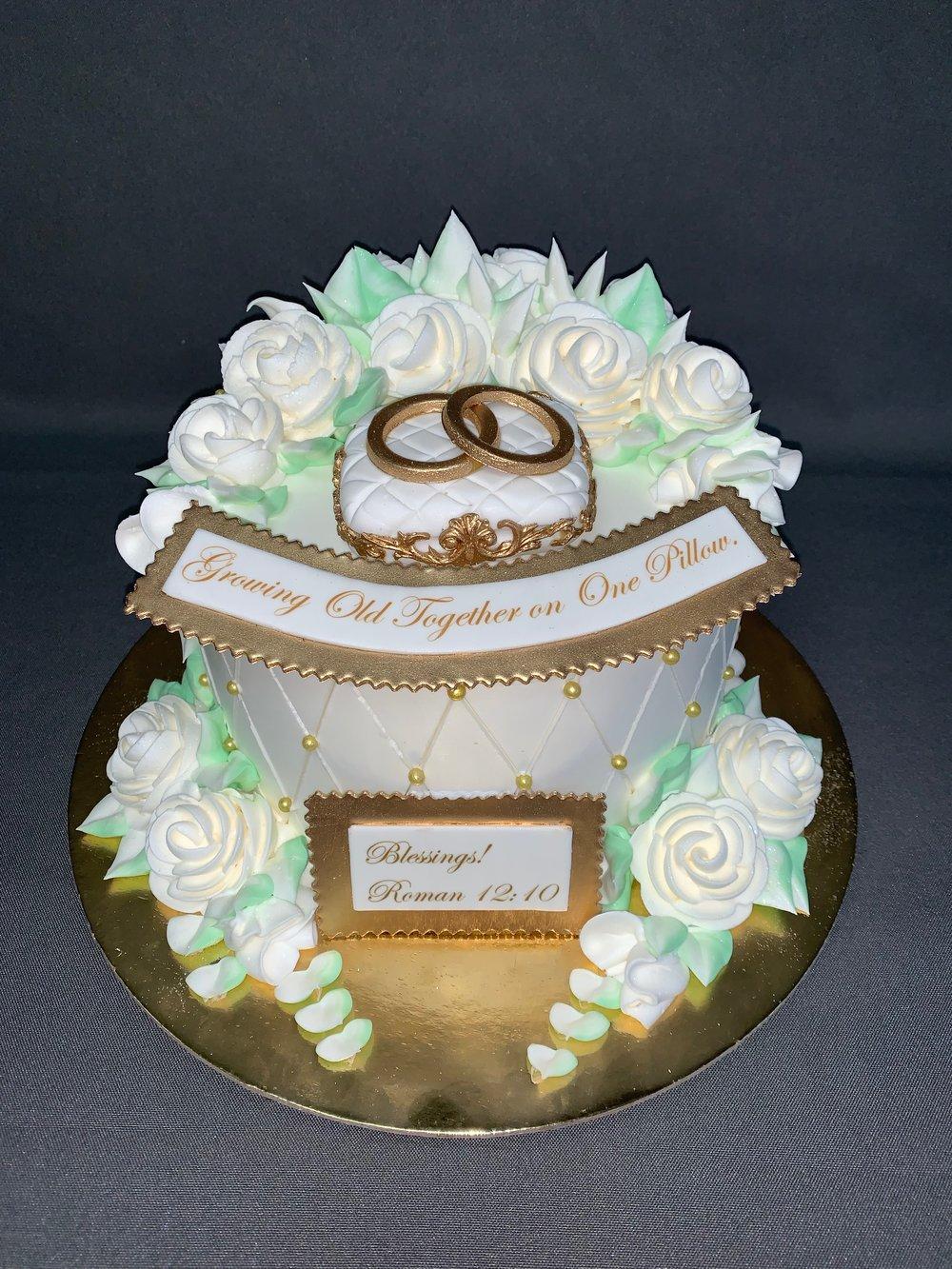 Bast Anniversary Cake NJ