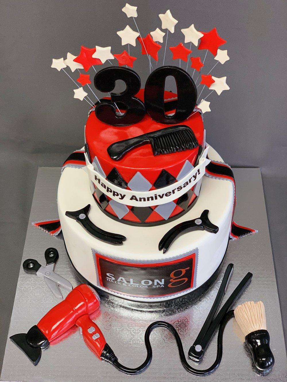 NJ Business Anniversary Cake