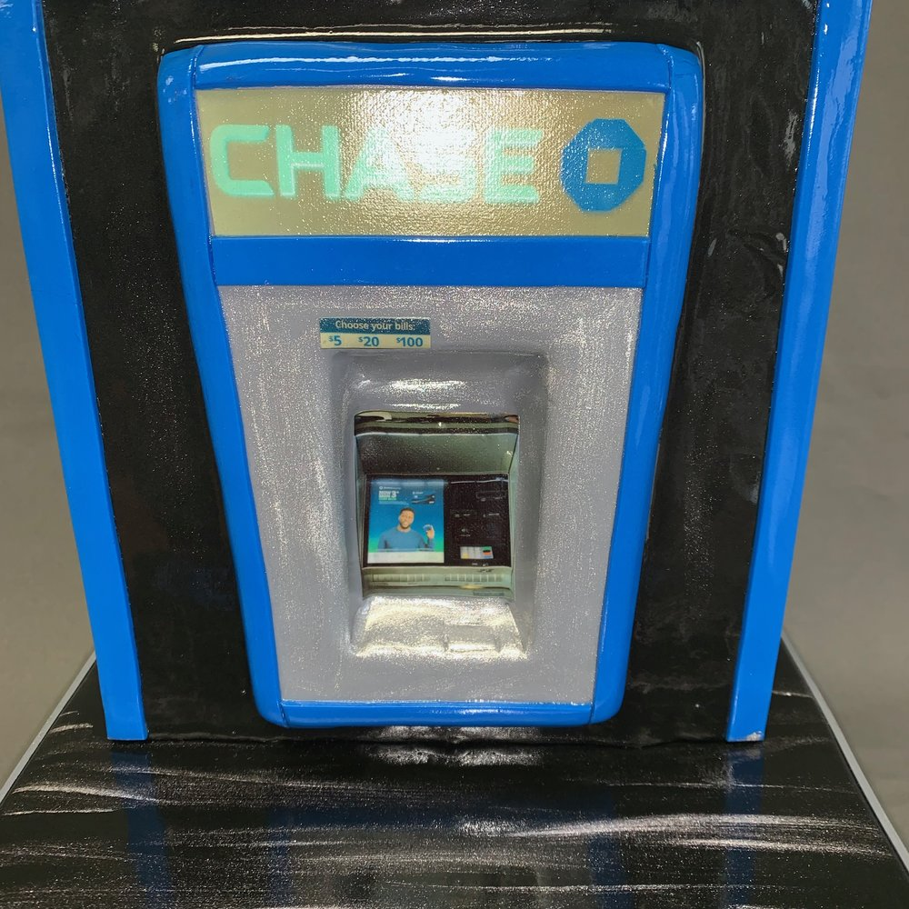 NJ Chase Bank ATM Themed Cake