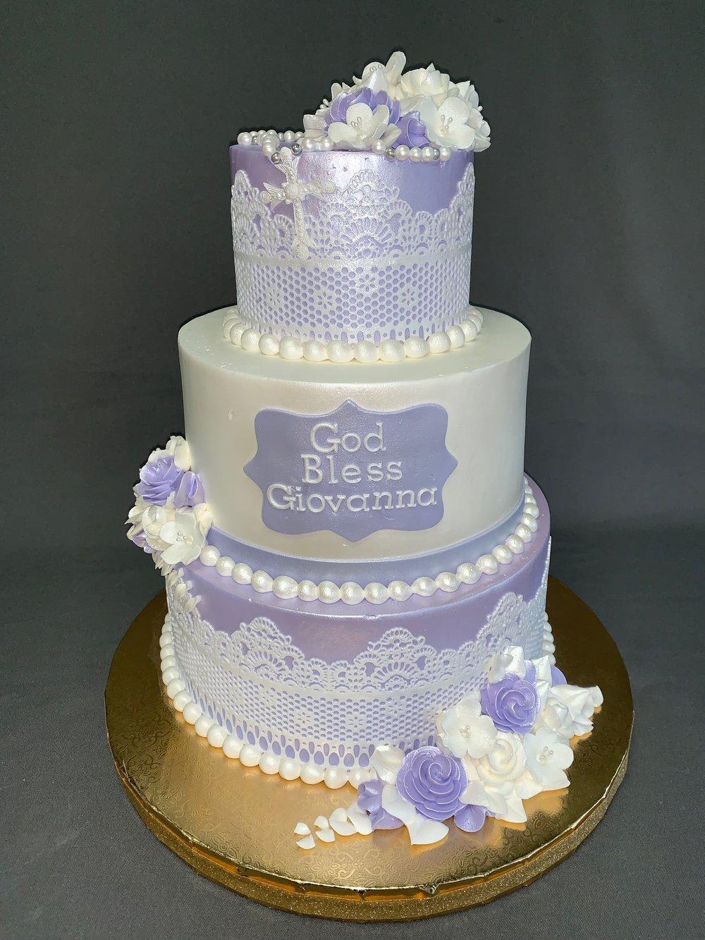 First Communion Cake NJ