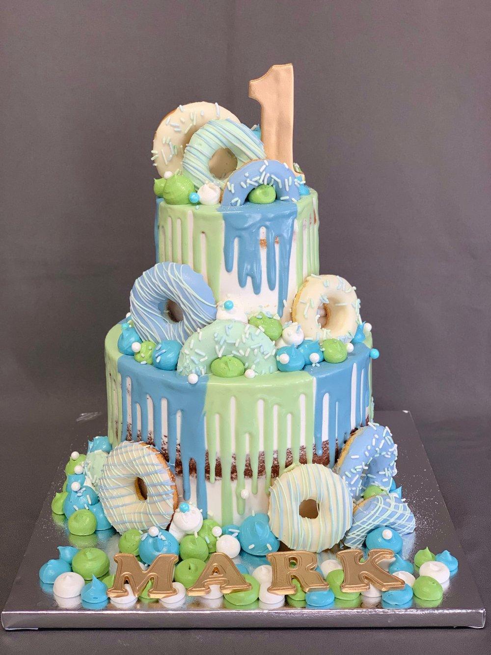 1st Birthday Cake and Cookies Set NJ