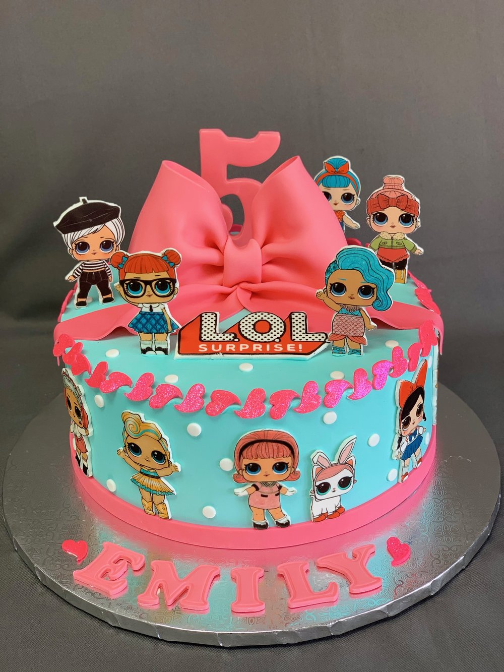 LOL Dolls Birthday Cake NJ