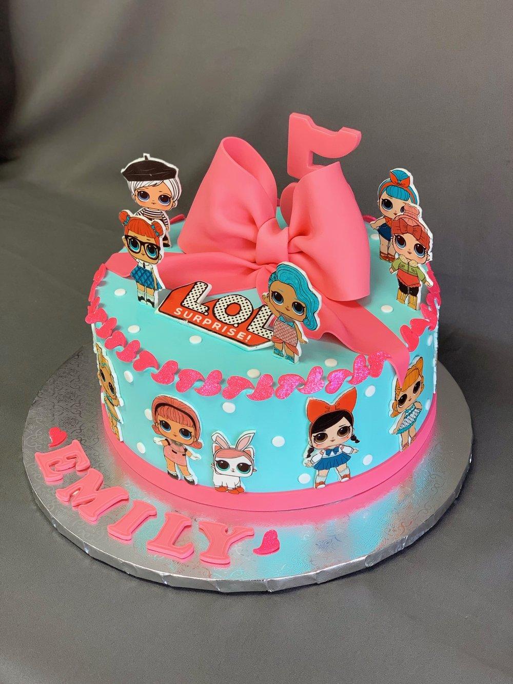 Lol Dolls Birthday Cake Skazka Desserts Bakery Nj Custom Birthday Cakes Cupcakes Shop