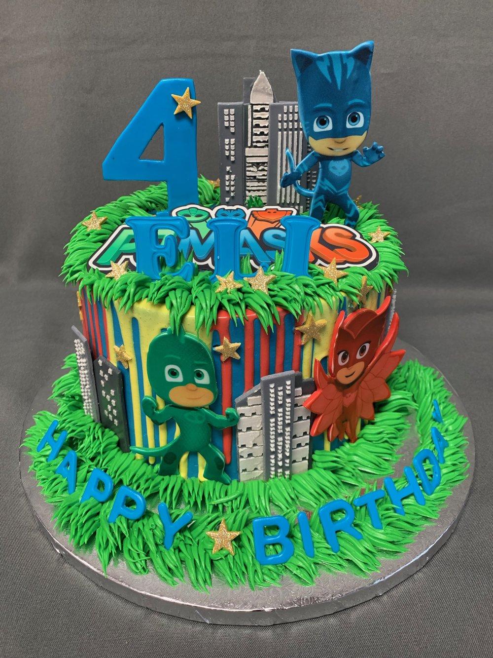 PJ Masks Birthday Cake NJ