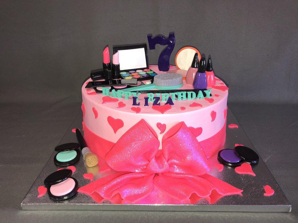 Makeup Birthday Cake New Jersey