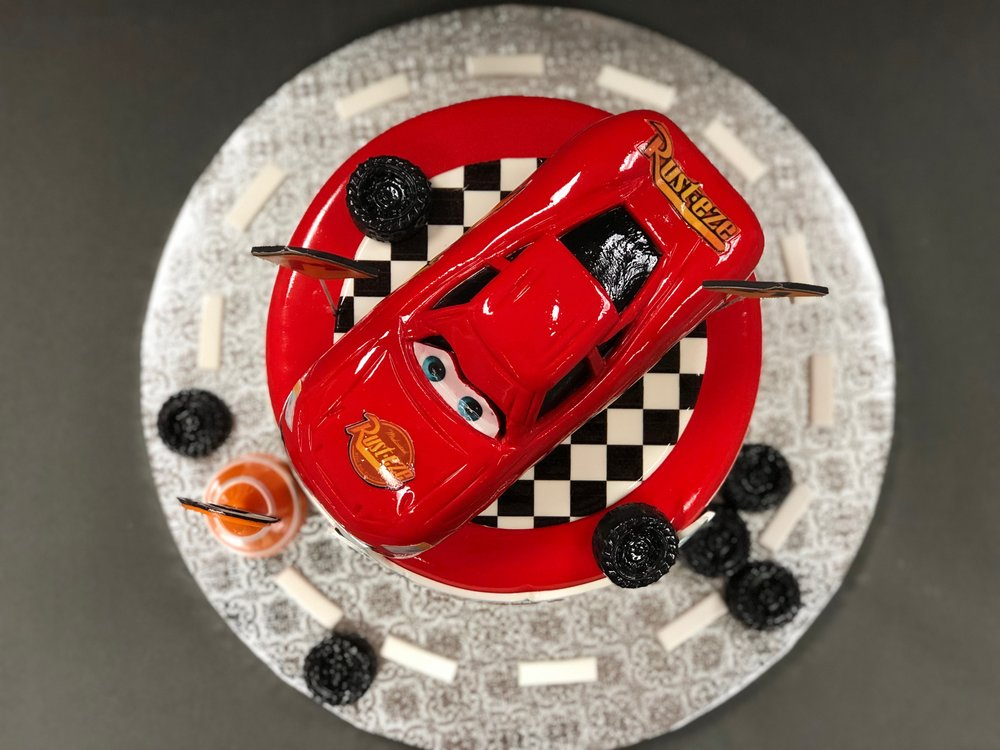 Disney Cars Themed Birthday Cake NJ