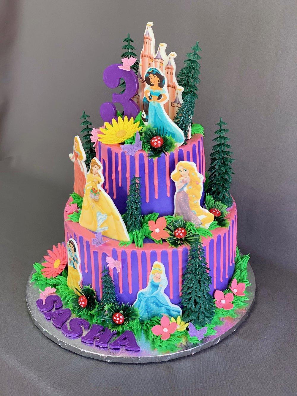 Best Princess Birthday Cake
