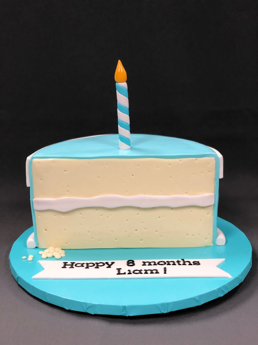 6 Months Birthday Cake New Jersey