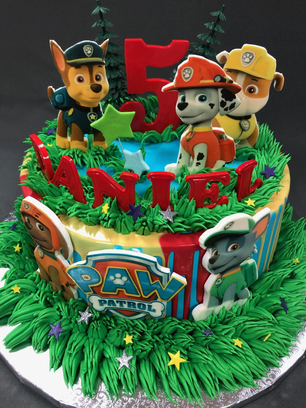 Paw Patrol 5th Birthday Cake NJ