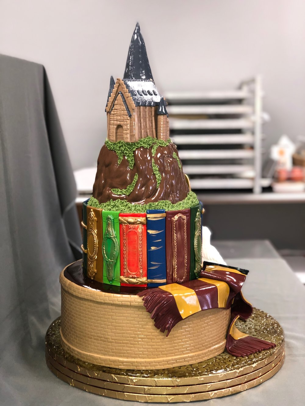 Harry Potter Birthday Cake New Jersey