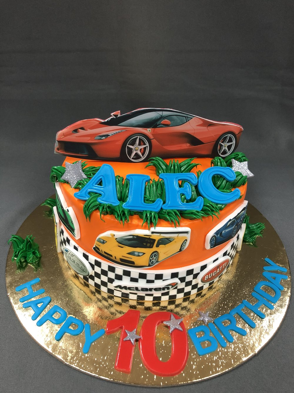 Cars Birthday Cake New Jersey