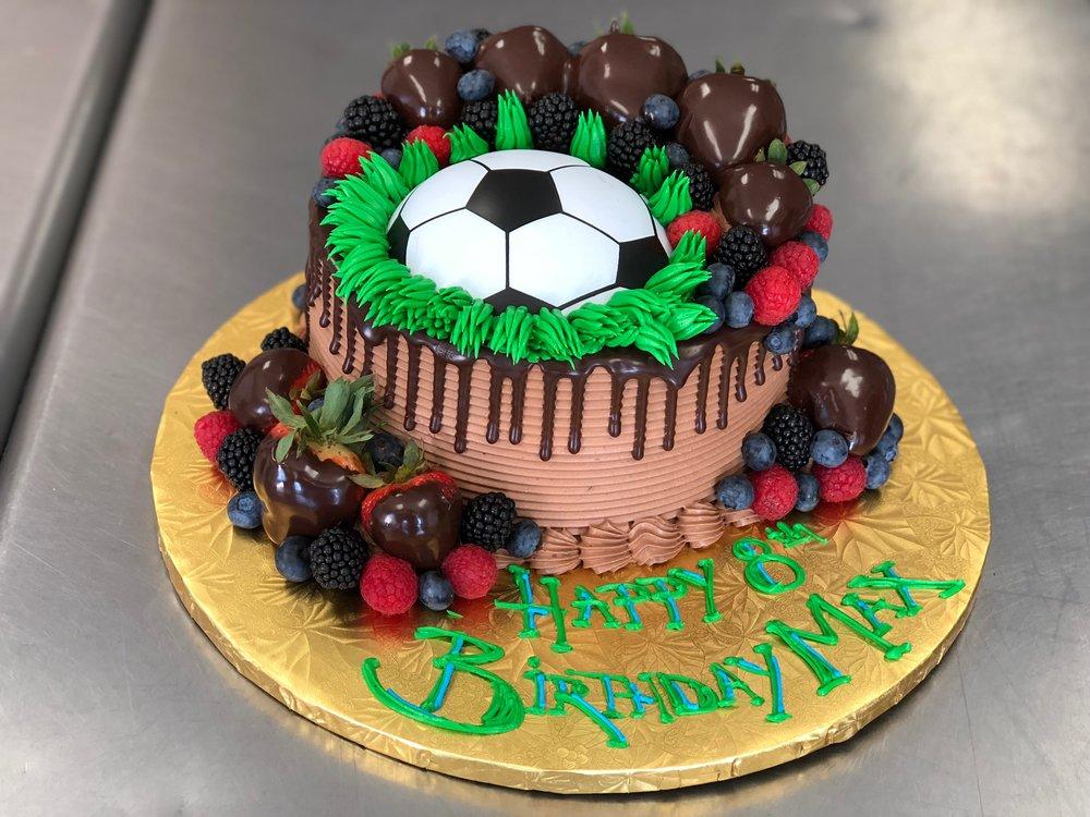 Soccer Theme Birthday Cake NJ