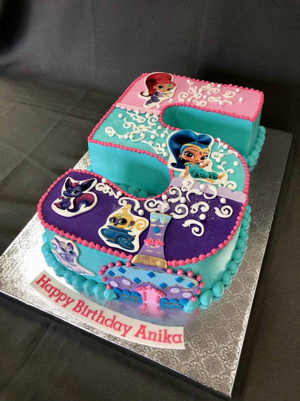 New Jersey Birthday Cake