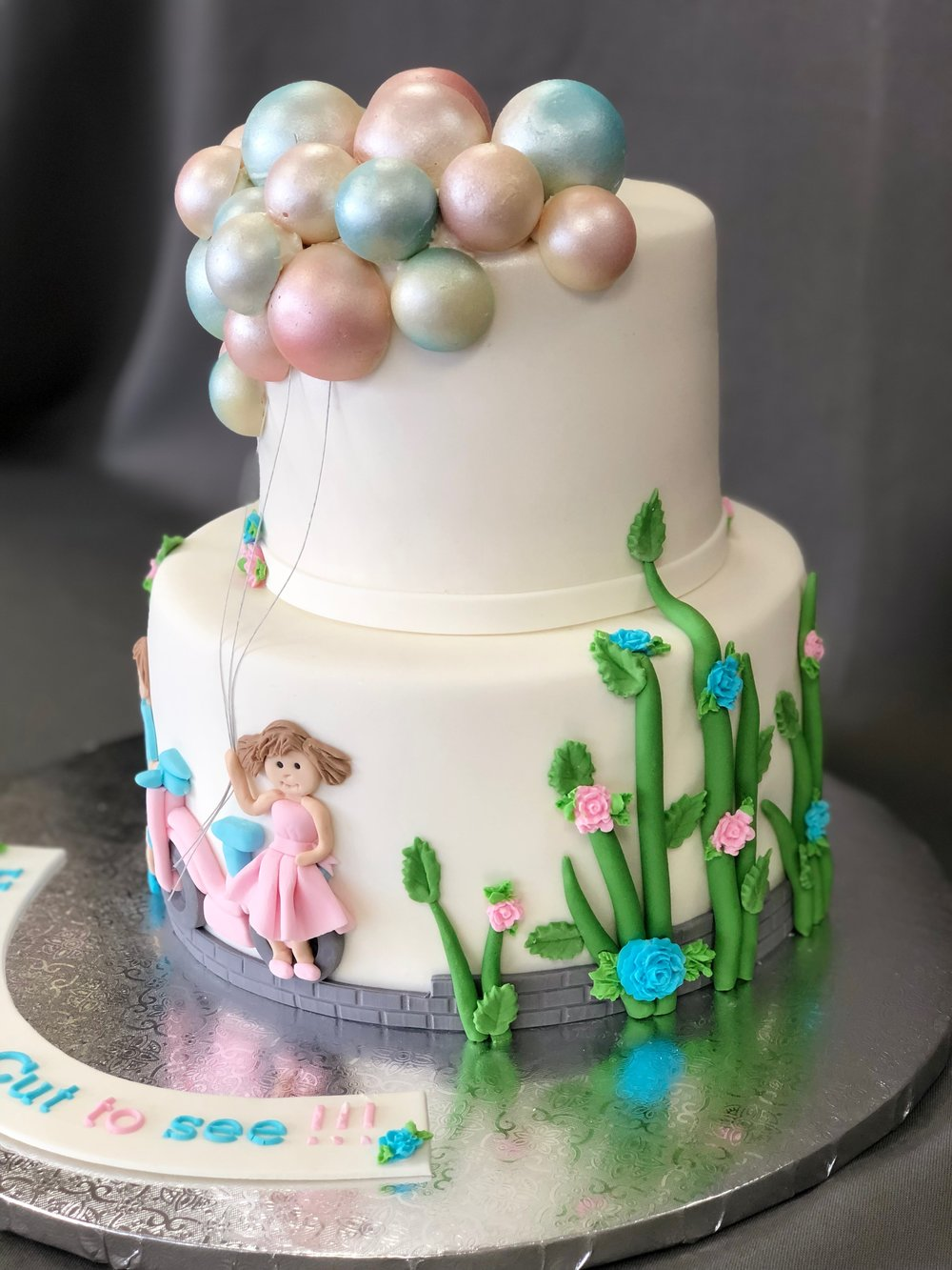 NJ Gender Reveal Cake