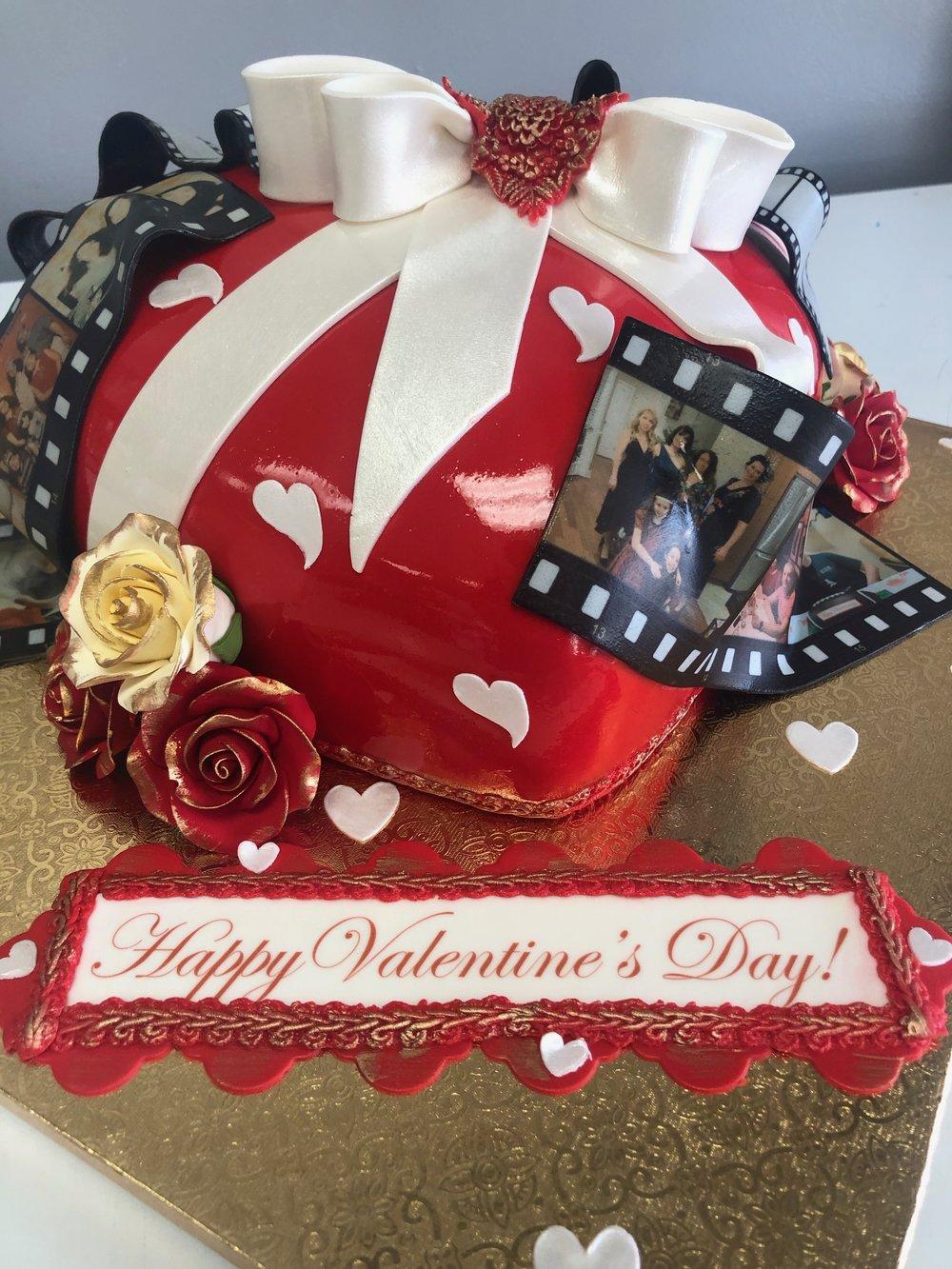 NJ Valentine's Day Cake