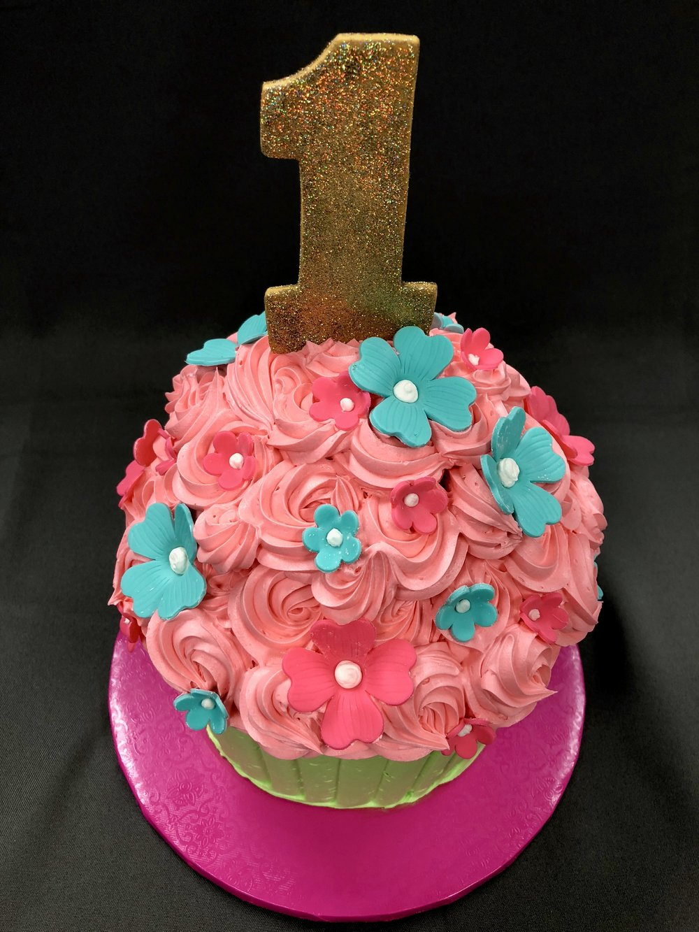 1st Birthday Cupcake Cake NJ
