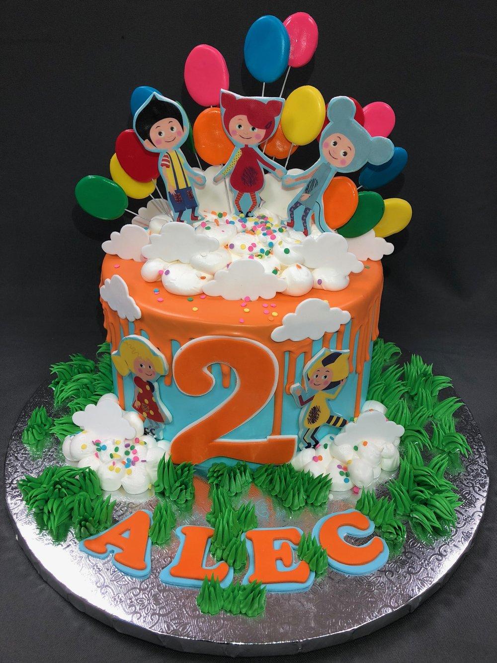 Kukutiki Theme Birthday Cake NJ