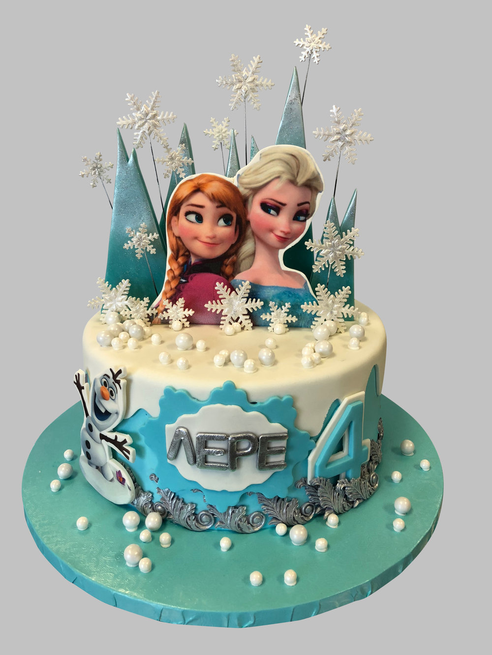 Frozen Theme Birthday Cake New Jersey