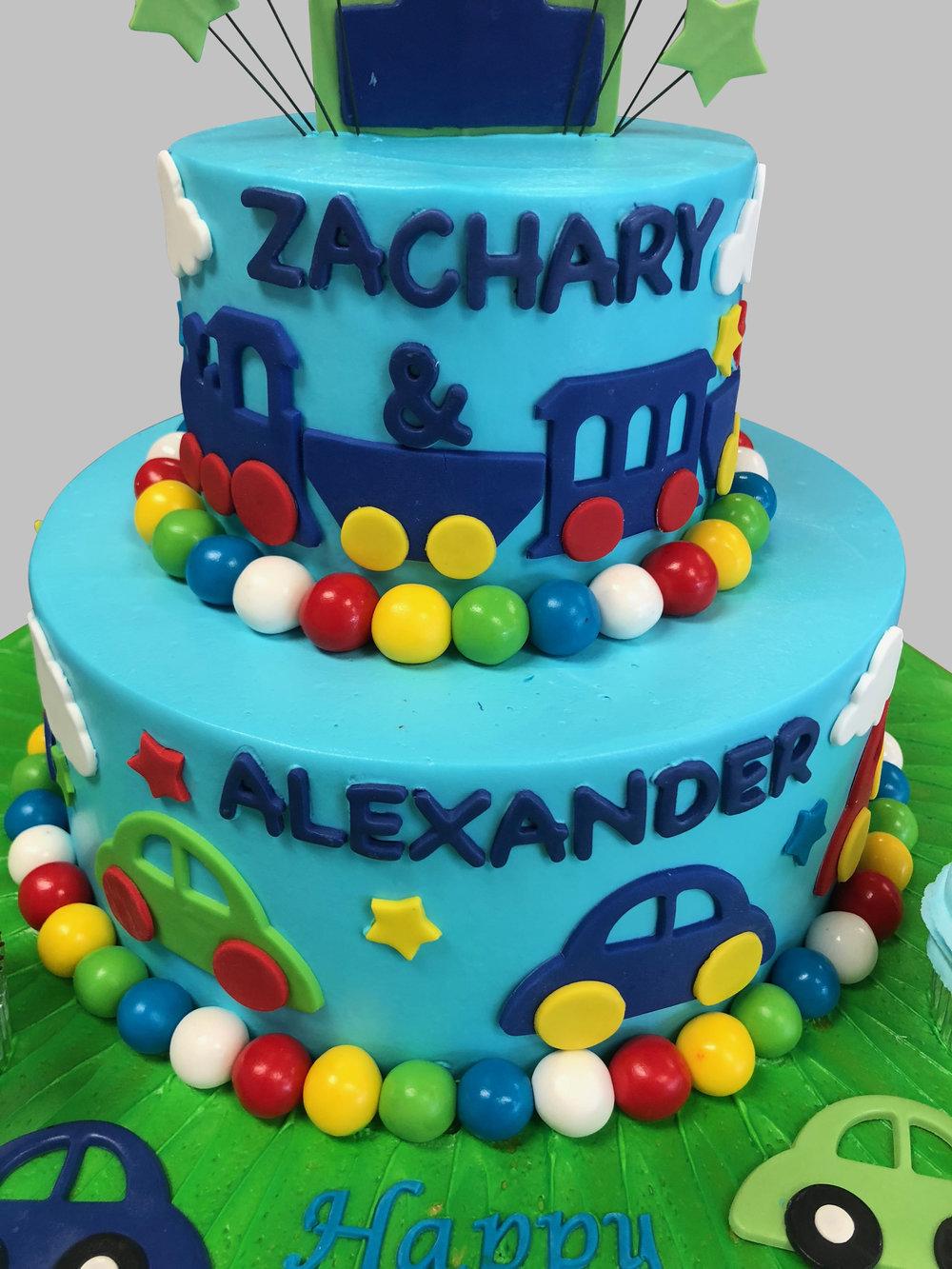 First Birthday Cake New Jersey