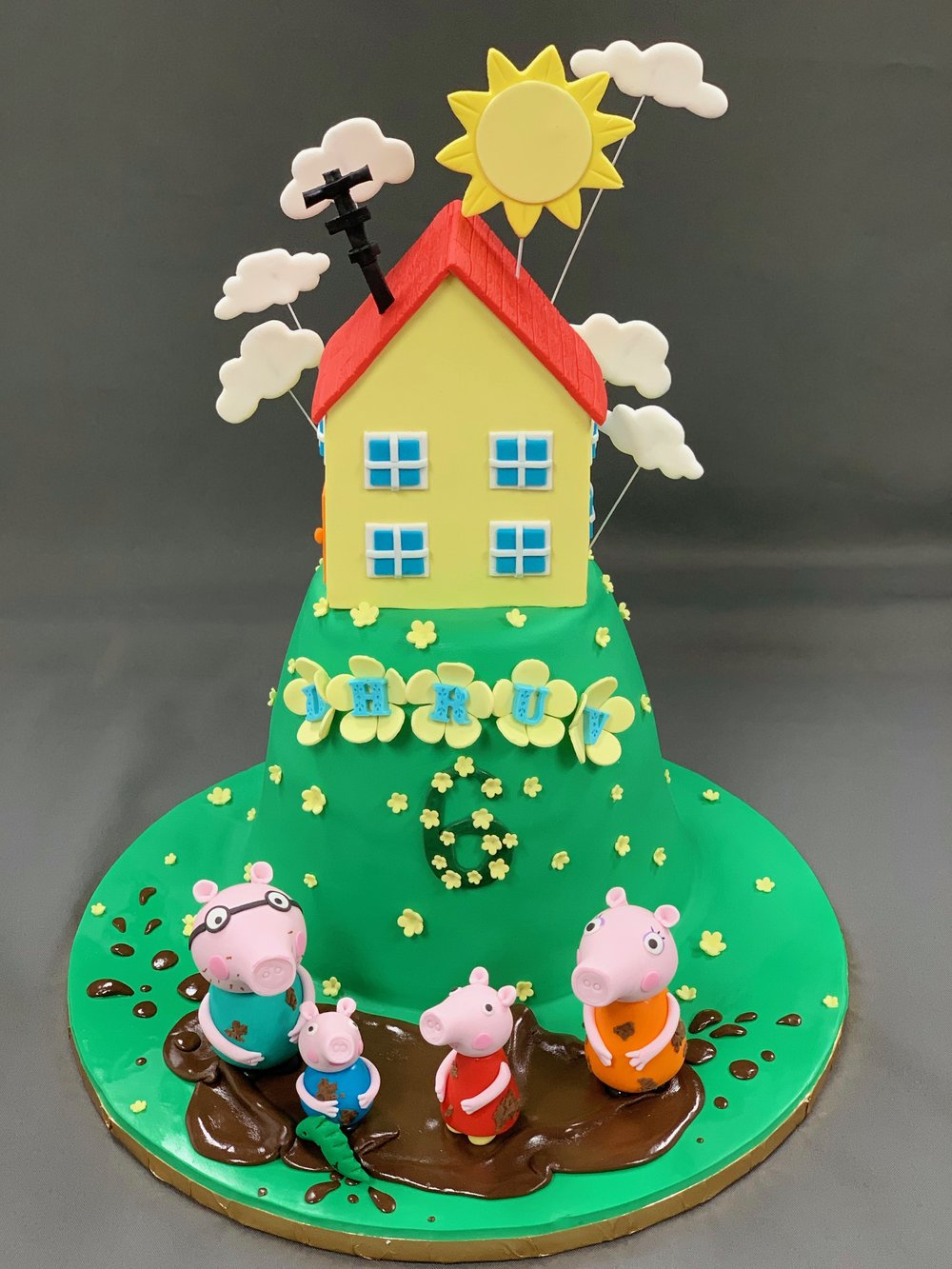 Best Peppa Pig Family Birthday Cake