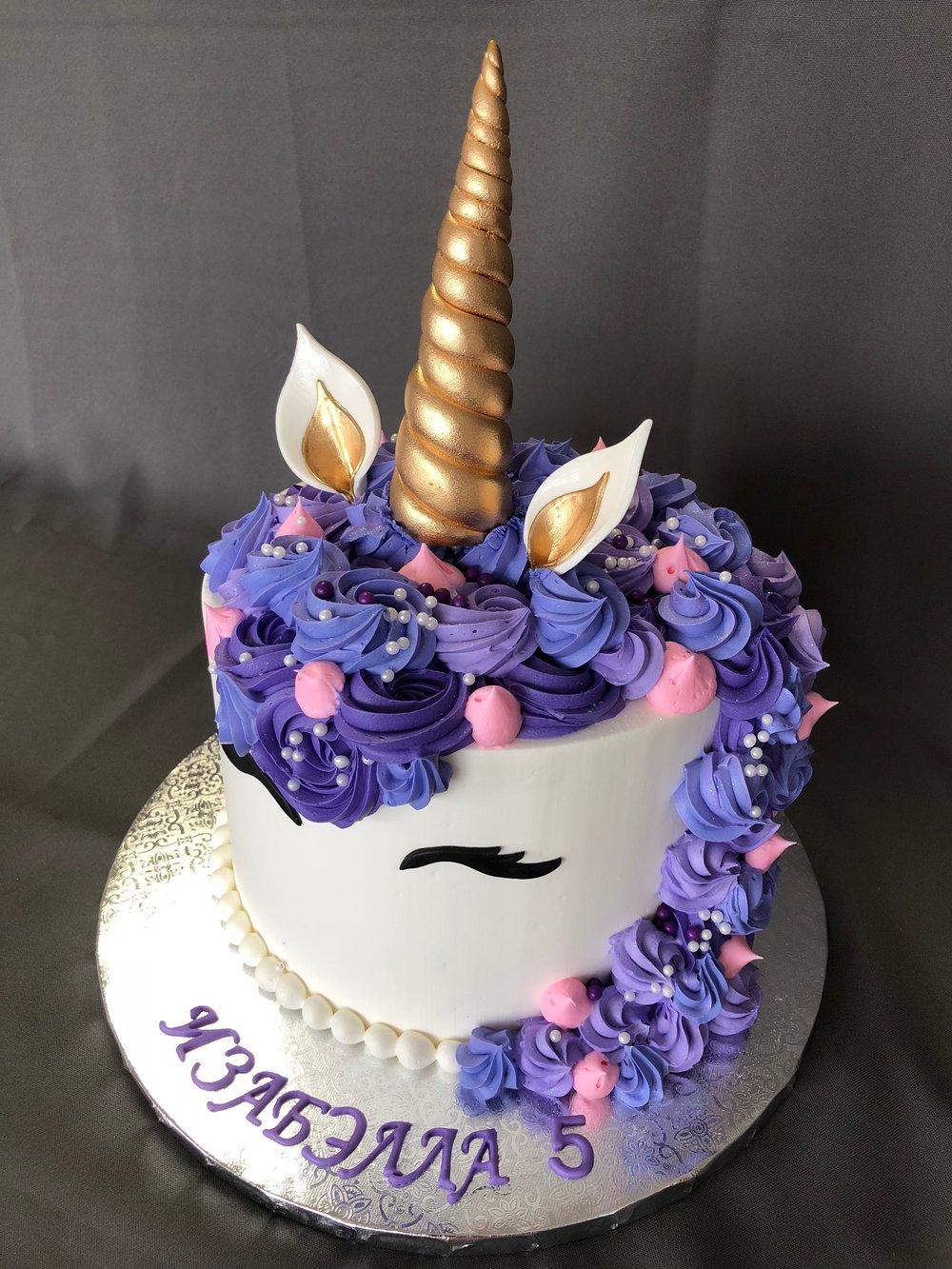 Best Unicorn Birthday Cake NJ