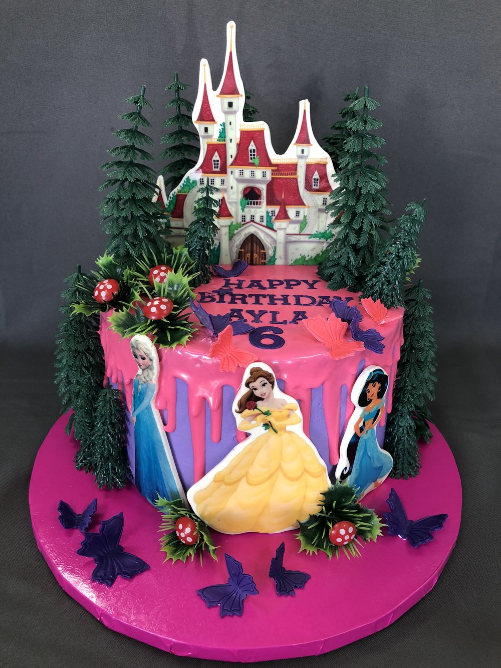 Best Princess Birthday Cake New Jersey
