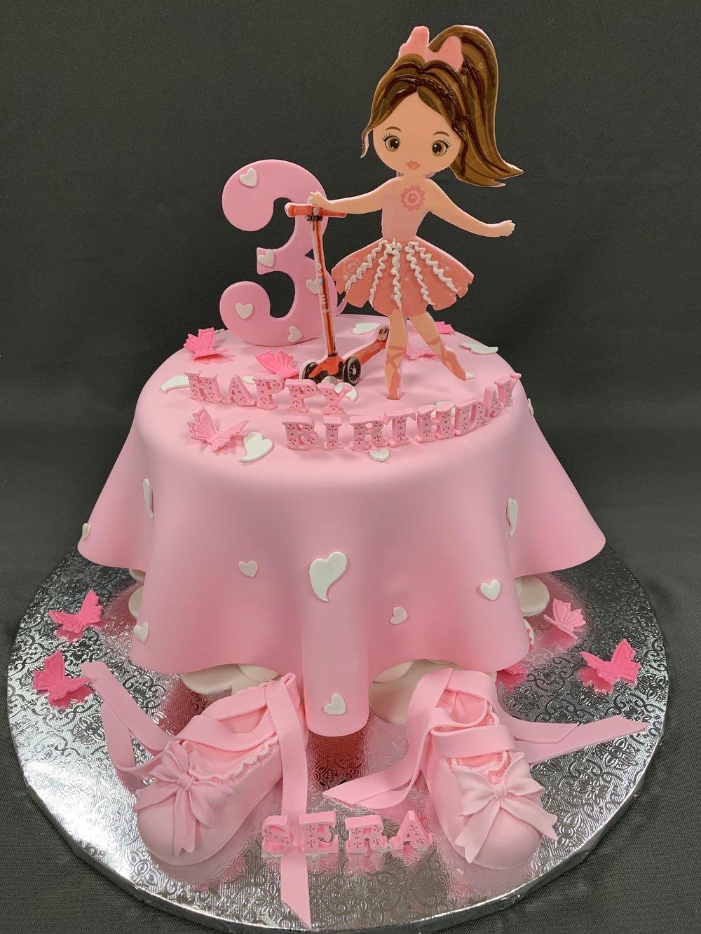 Best Little Ballet Dancer Cake NJ