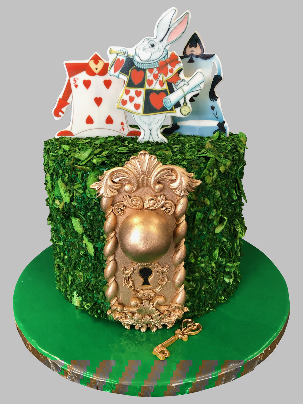 Alice In Wonderland Birthday Cake New Jersey