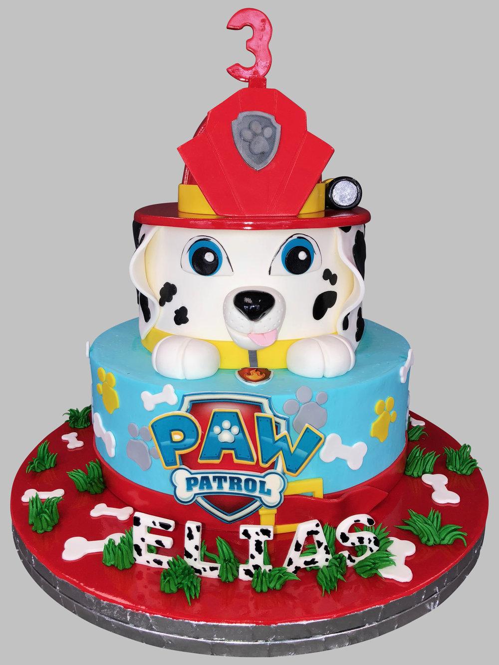 Paw Patrol Birthday Cake New Jersey