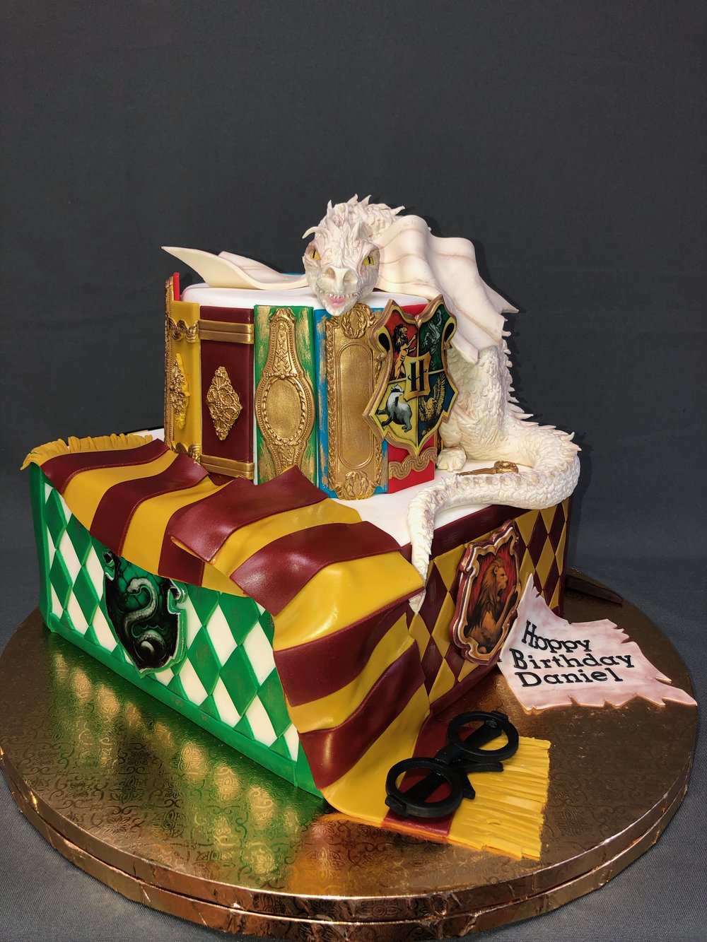 Harry Potter Themed Birthday Cake New Jersey