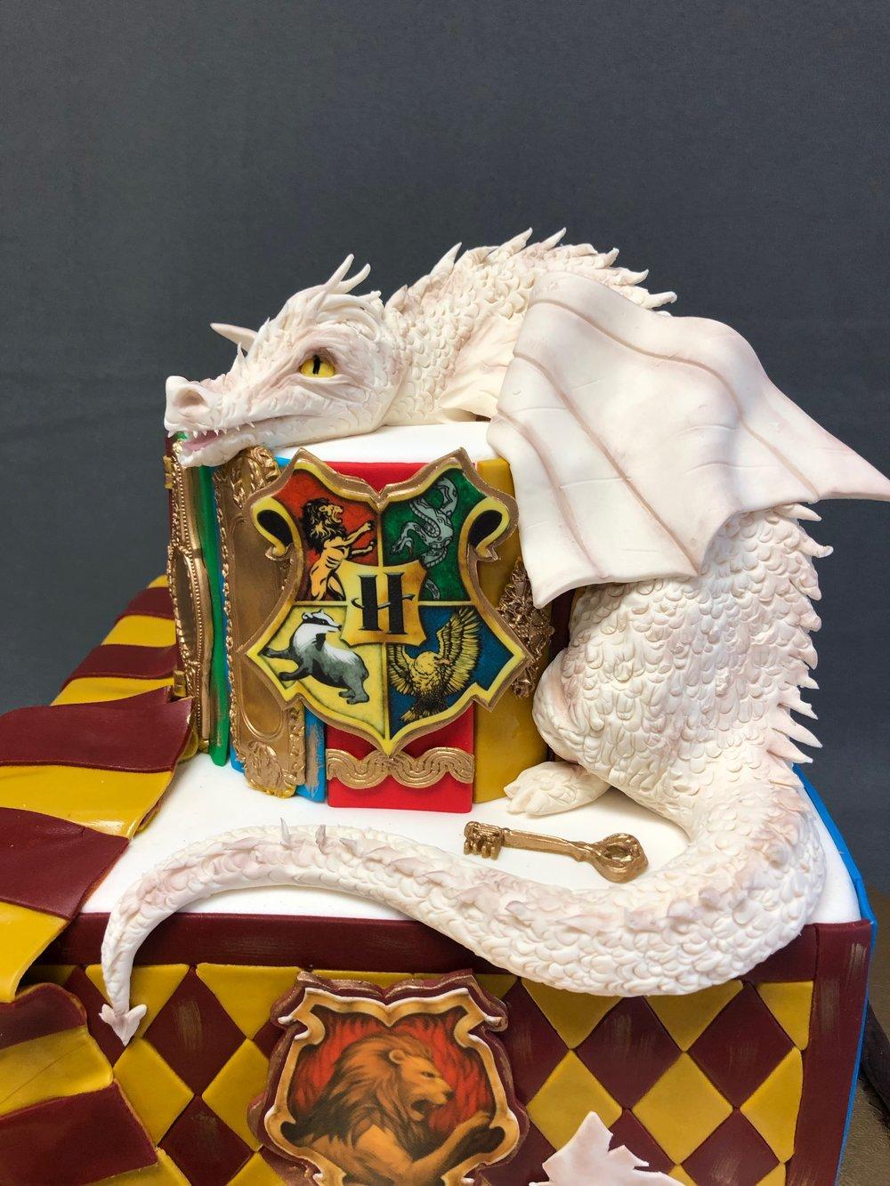 Harry Potter Themed Birthday Cake New Jersey
