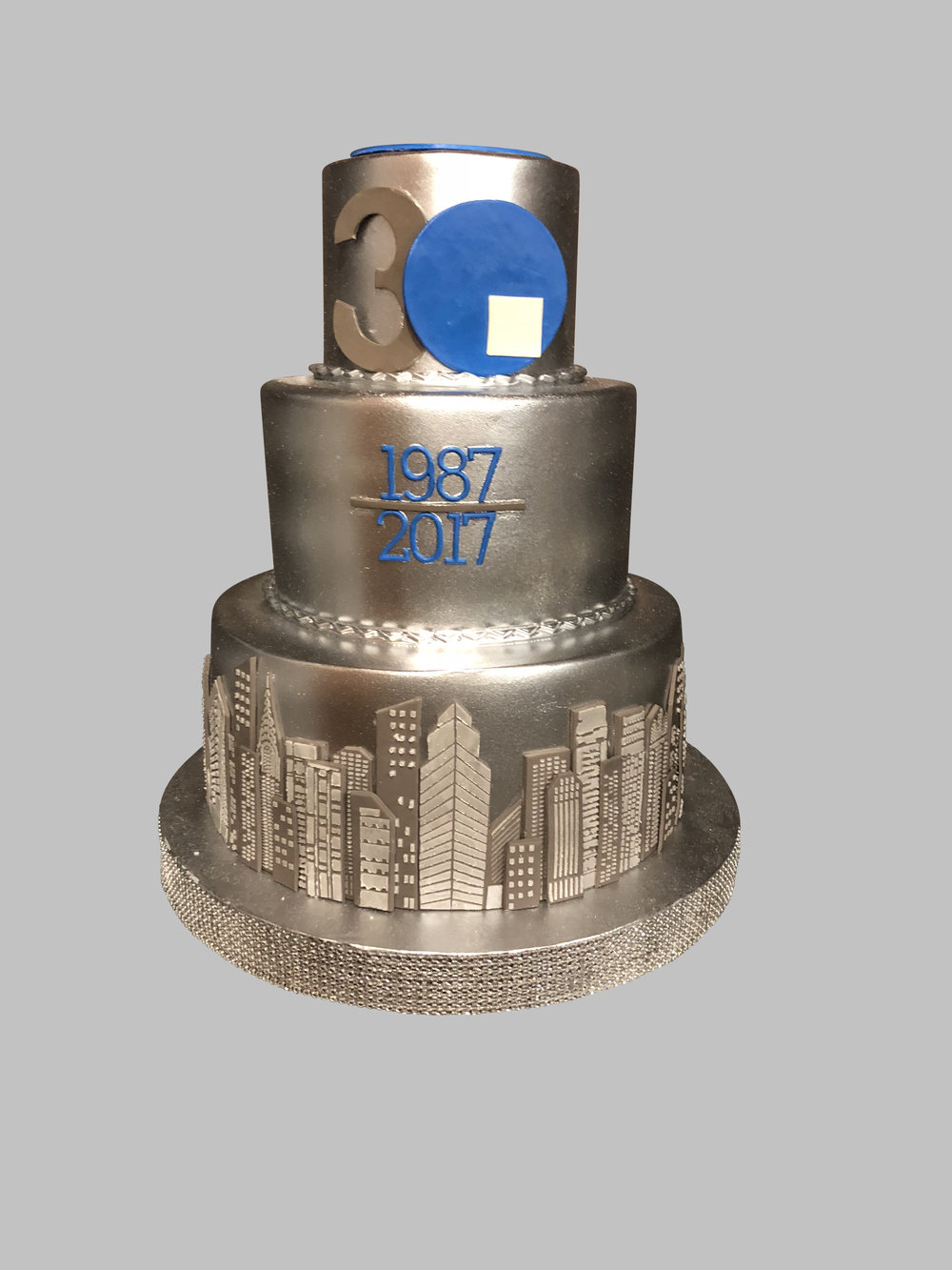 NJ Corporate Anniversary Cake