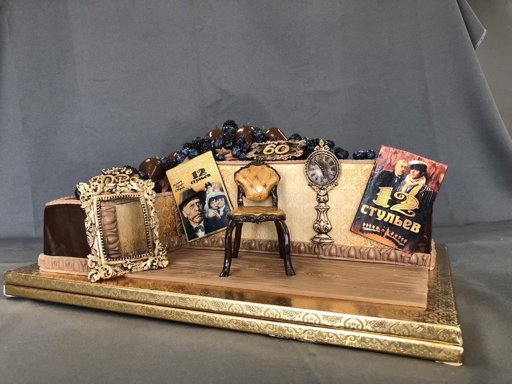 NJ Russian Movie Theme Cake