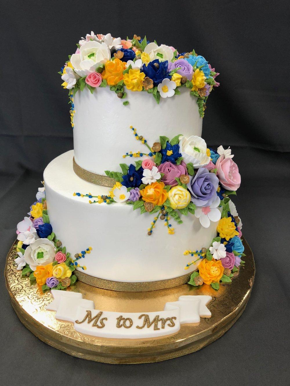 Best Bridal Shower Cake