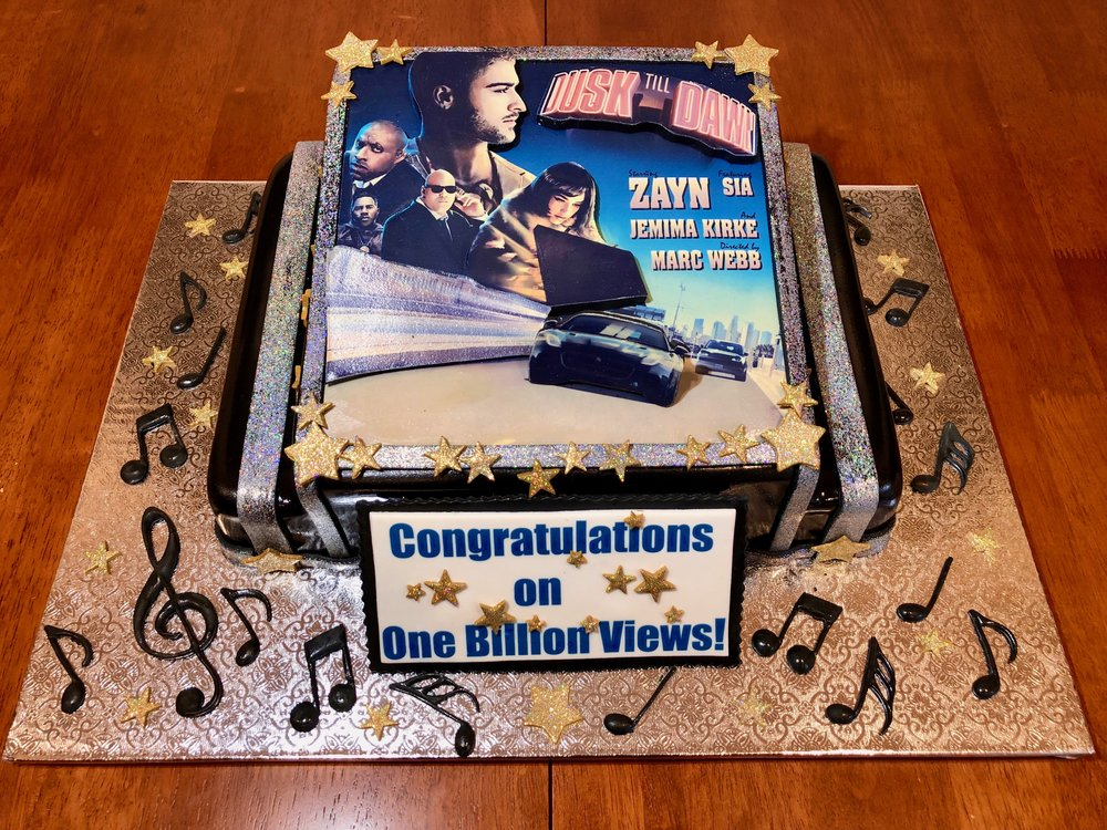 Best Video 1 Billion Views Celebration Cake